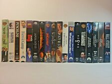 Lot of 18 Vintage Vhs Tapes Movies Wholesale Assorted Genre Signs, Sixth Sense