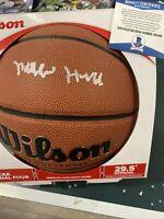 MATTHEW HURT HAND SIGNED Basketball 2020 NBA draft Duke Blue Devils Beckett NBA
