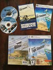 Microsoft Flight Simulator X Pc Stampa Italiana con Manuale & Guida