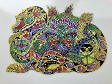 Wentworth Wooden 'shaped' Jigsaw Puzzle - 'Dragon' - 210 Pieces Complete.