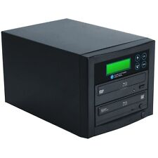1-2 Targets 500GB Hard Drive to Blu-Ray BD-R DVD CD Disc Duplicator with USB 3.0