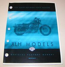 Teilekatalog Harley - Davidson XLH Modelle - 1999!