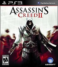 Assassin's Creed II (Sony PlayStation 3, 2009)VG- MISSING COVER
