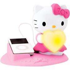 Hola gatito altavoz de luz mágica con bandeja desmontable para iPhone, iPod y Mp3 capas