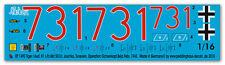 Peddinghaus 1490 1/16 Tiger I PESANTE Carro armato abate. 501 TUNISIA 1943