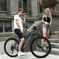 Mountain Bike 21 Speed 26 inch Aluminum Bike Double Disc Brake Bicycles For Teen
