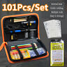 🔥 101Pcs Electric Soldering Iron Kit DIY Wood Burning Pen Carft Tool Pyrography