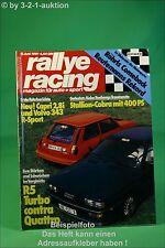 Rallye Racing 6/81 Ford Capri 2,8 R5 Turbo Audi Quattro