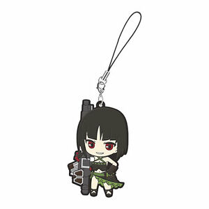 God Eater Mascot Swing PVC Keychain Strap Charm Sakuya Tachibana @97073