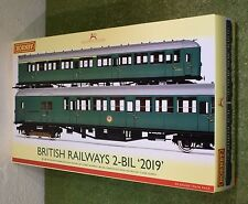 HORNBY TRAINS RAILWAY OO GAUGE R3257 BRITISH RAILWAYS 2-BIL 2019 TRAIN PACK