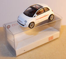 MICRO NOREV HO 1/87 FIAT BLANCHE NUOVA 500 DB CARSHARING IN BOX