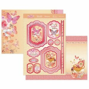Hunkydory-Butterfly Blush - Flutterbye Wishes- Luxury Toppers kit 2021