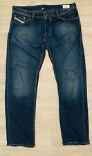 Mens Diesel Larkee Straight Leg Jeans *38x34* Wash 008XY Dark  Button Fly