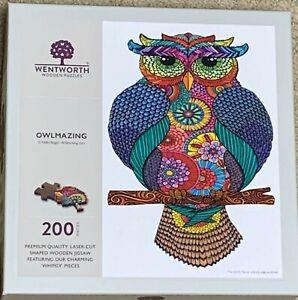 Wentworth 200 piece jigsaw Puzzle Owlmazimg