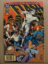 Flash #100 DC Comics 1987 Series Newsstand Edition 9.4 Near Mint