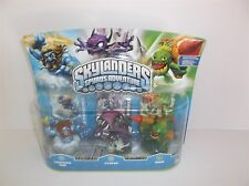 SKYLANDERS SPYRO'S ADVENTURE LIGHTING ROD, CYNDER & ZOOK FIGURES NEW SERIES 1