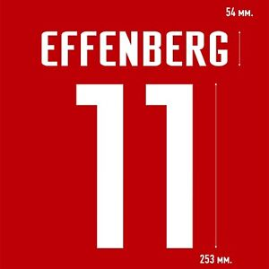 Effenberg 11. Bayern Munich Home football shirt 2000 2002 FLEX NAMESET PRINT