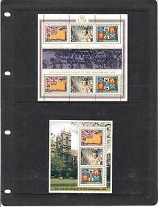 Niue Stamps. Mini/Sheets. Decimal.