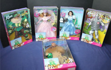 Barbie Wizard of Oz Doll Set~Dorothy~Glinda~Tin Man~Scarecrow~Cowardly Lion New