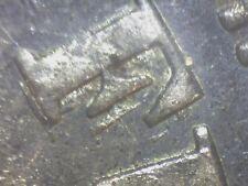 1881 Chile Silver Peso Error Ddo And Double Struck Reverse