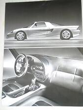MERCEDES c112 AUTO PRESS PHOTO BROCHURE 1991 RIF. D 48 154