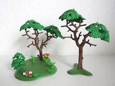 Playmobil Große Bäume mit Pflanzen 2 Stück