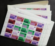 Edw1949Sell : Australia 1971 Scott #508. 16 Blocks of 25. All Very Fine, Mint Nh