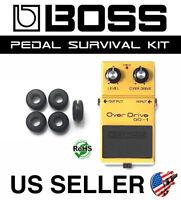 BOSS OD-1 OVERDRIVE SURVIVAL KIT GUITAR PEDAL GROMMET RUBBER O-RING SET OF 5