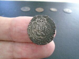 KING HENRIVII silver hammered half groat ARCHBISHOP SAVAGE SUPERB COIN DETEKFIND