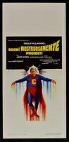 Plakat Träume Ungeheuer Verbotene Paul Dorf Superman Fantozzi L159