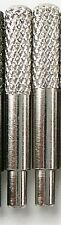 """LOT OF 2 CRIBBAGE BOARD PEGS SILVER  metal for 1/8"""" holes  PROFESSIONAL"""