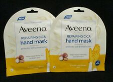 Aveeno Repairing Cica Hand Mask with Prebiotic Oat & Shea Butter {LOT OF 2}
