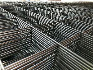 Schweißgitter,Zaun,Gitter,W 100 mm, D 3 mm, Stahl ,500x500 mm, 20,60 Euro/Stk.