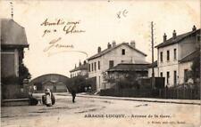 CPA Amagne-Lucquy Avenue de la Gare (646798)