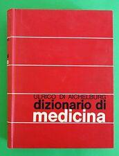 Dizionario di medicina di Ulrico di Aichelburg ed. UTET 1969