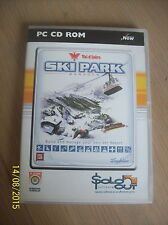 PC CD-Rom GAME - Ski Park Manager Val d Isere - Build and Manage your own resort