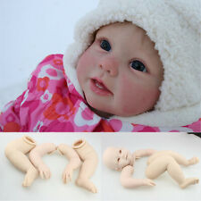 "Reborn Doll Kits Unpainted Vinyl Full Limbs Mold for 28"" Lifelike Toddler Dolls"