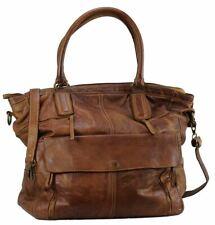BZNA Bag Boney cognac Italy Designer Damen Handtasche Schultertasche Tasche