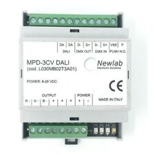 dimmer rgb DALI barra din MADE IN ITALY
