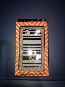 New Dabney Lee iPhone 5/5s Case Blue White Stripes Cover