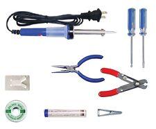 Electronic Technician Soldering Iron Tool Kit 9pc Elenco TK-14