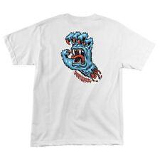 Santa Cruz Yeti Screaming Hand Skateboard T Shirt White Xxl