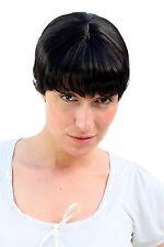 Damenperücke Kurzhaarschnitt, schwarz, kurz, Perücke