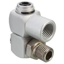 "Universal 360 Swivel 1/4"" BSP Air Hose Connector Adapter Flow Aluminum Tool Hot"
