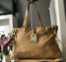 Lovely Genuine Mulberry Tan Leather Large Shimmy Shoulder Bag Multiway Handbag