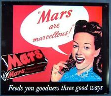 Altes Blechschild Mars Reklame Werbung gebraucht used