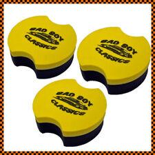3x Badboy Classics Foam Applicator Sponge Pad Car Wax Polish