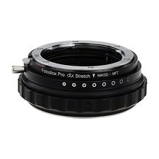 Fotodiox DLX Stretch Objektivadapter - Nikon F G-Type Lens to Micro Four Third
