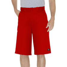 "Dickies Red Work Short 42283 13"" Loose Fit Multi Pocket  Sizes 30 to 44"