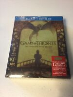 Game of Thrones: The Complete Fifth Season (Blu-ray Disc, 2016, 4-Disc Set) New